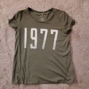 American Eagle Green T-shirt size S